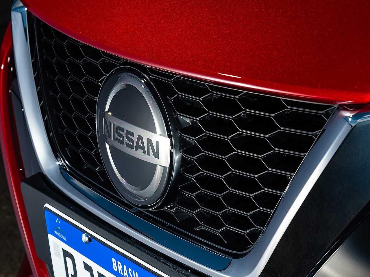 NissanVersa 2021 - grade frontal