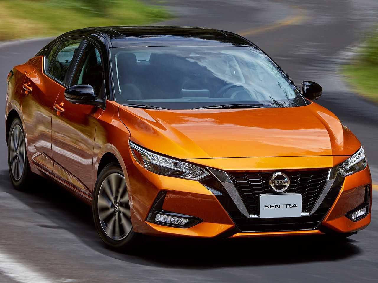 Acima o Nissan Sentra que será comercializado na América Latina