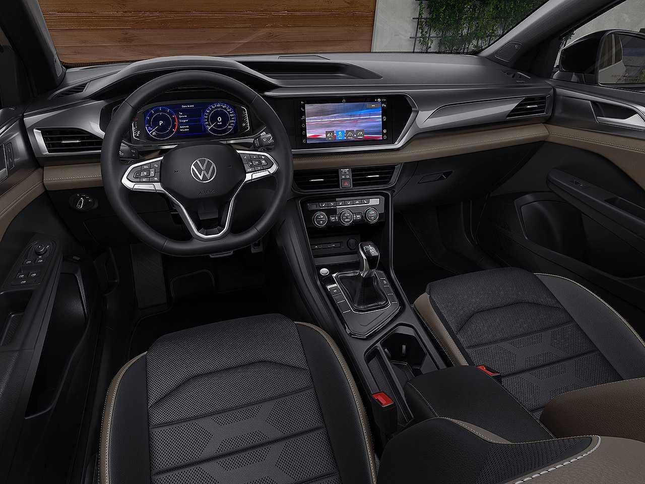VolkswagenTaos 2021 - painel