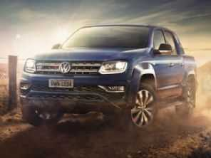 VW Amarok V6 mais potente será apresentada neste mês no Brasil