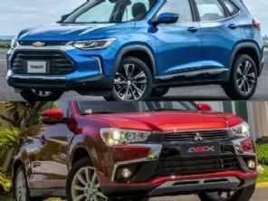Mitsubishi ASX ou um Chevrolet Tracker?