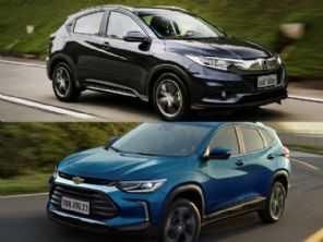Chevrolet Tracker Premier ou um Honda HR-V EXL?