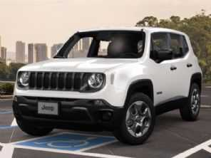 Jeep confirma suspensão por tempo indeterminado do Renegade para PcD