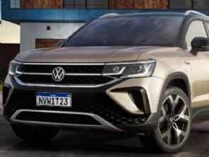 VW revela os primeiros dados do Taos que será vendido no Brasil
