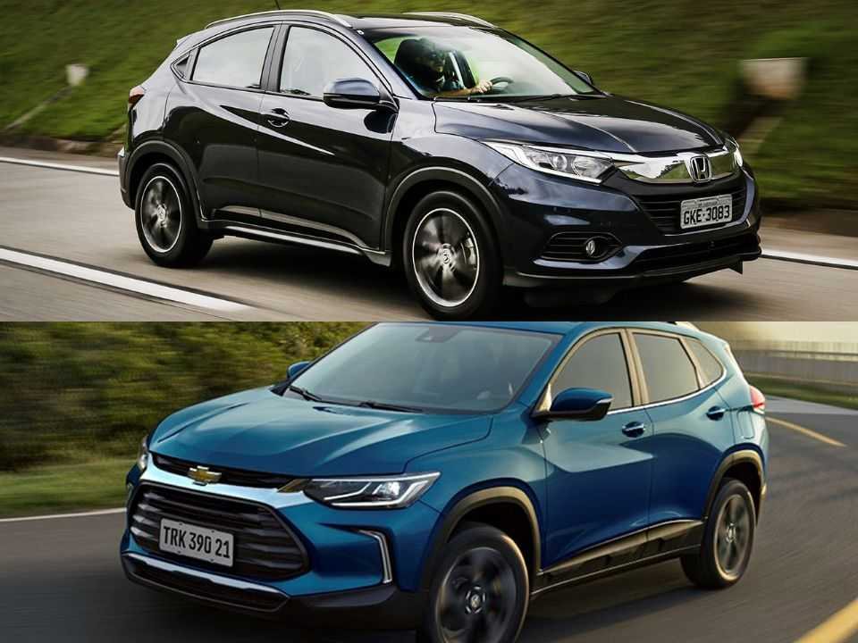 Honda HR-V e Chevrolet Tracker