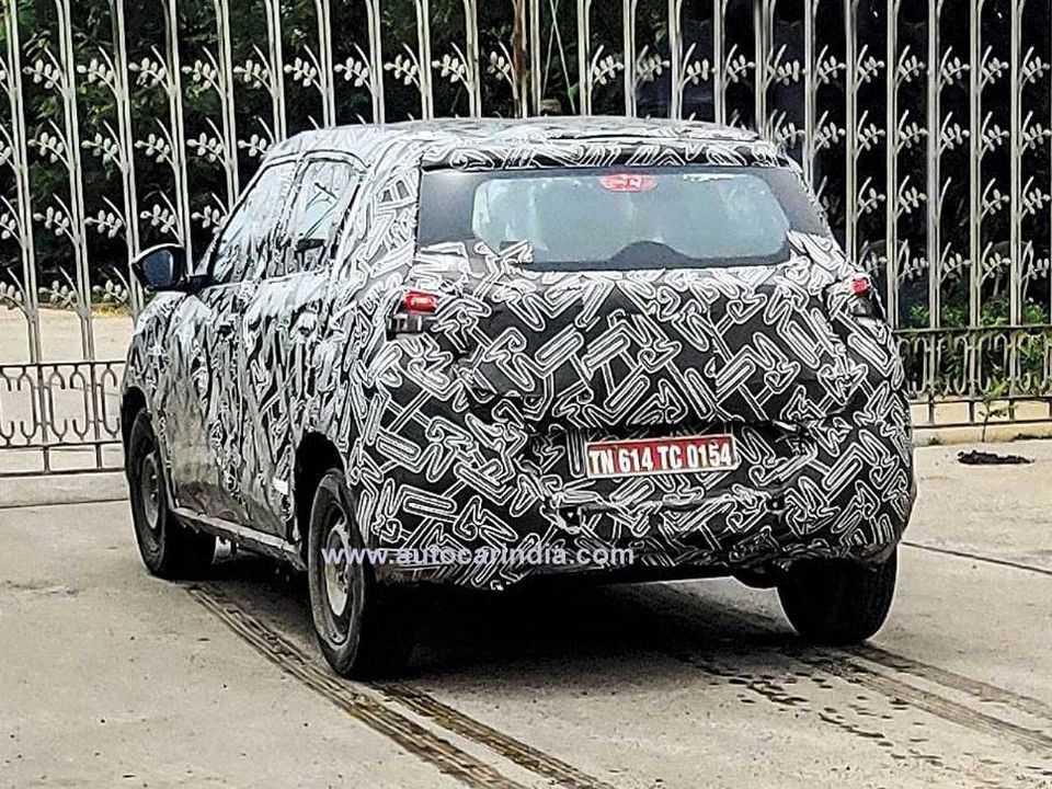 Flagra do futuro SUV pequeno da Citroën que será produzido no Brasil