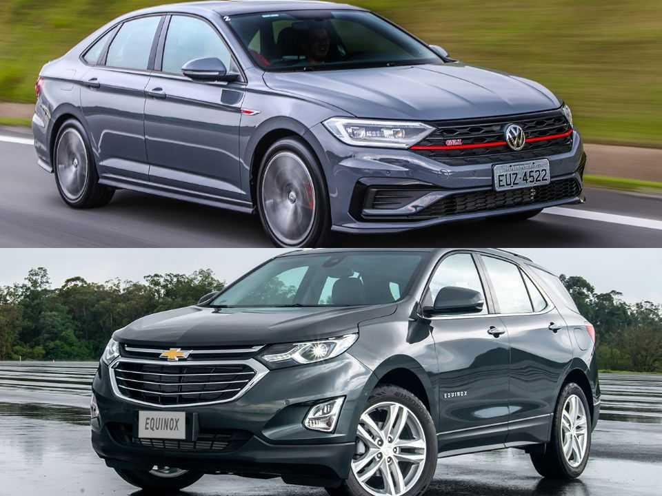 Volkswagen Jetta e Chevrolet Equinox