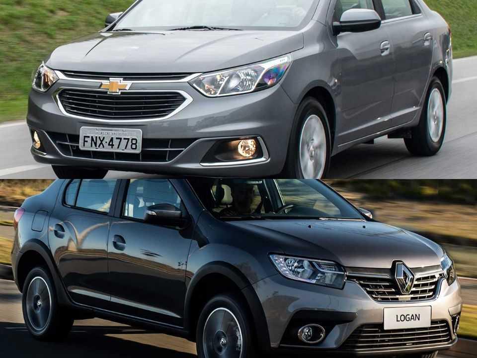 Chevrolet Cobalt e Renault Logan