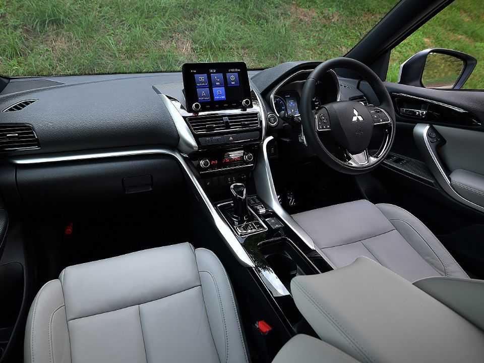 Interior do novo Mitsubishi Eclipse Cross