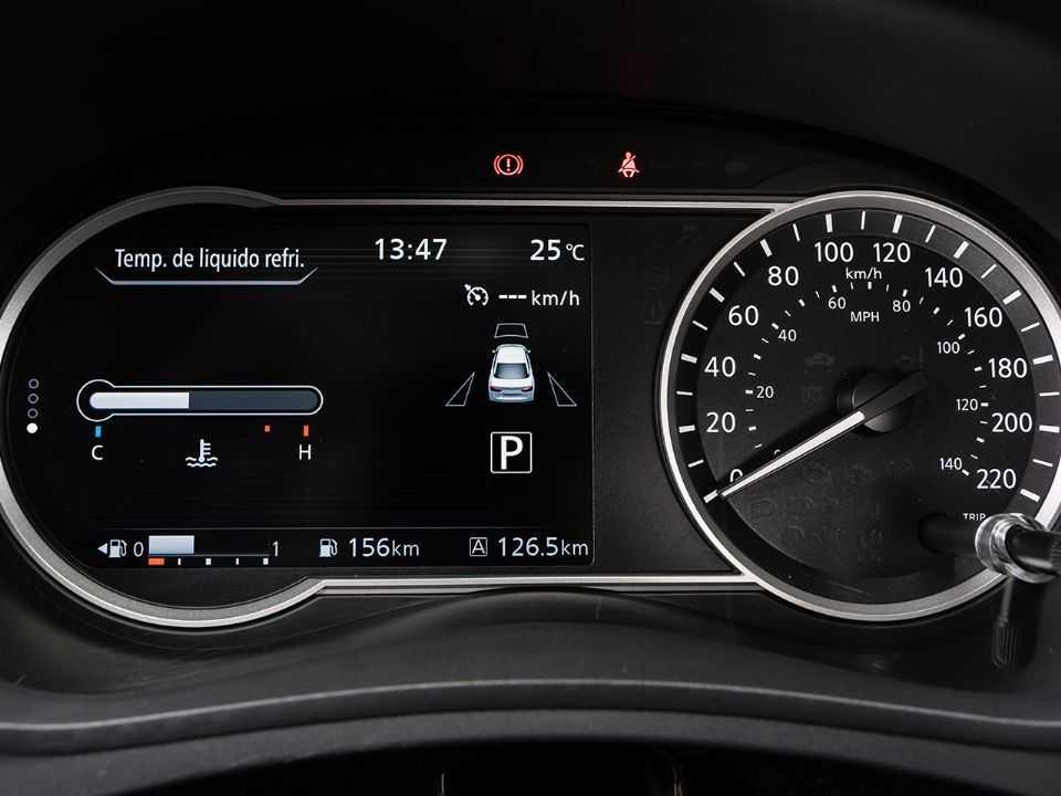 NissanVersa 2021 - painel de instrumentos