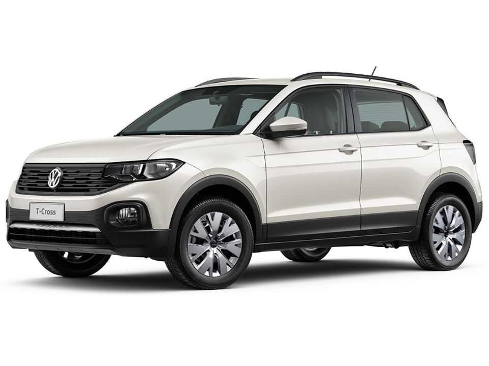 Acima o Volkswagen T-Cross 2021 em sua versão Sense destinada aos clientes PcD
