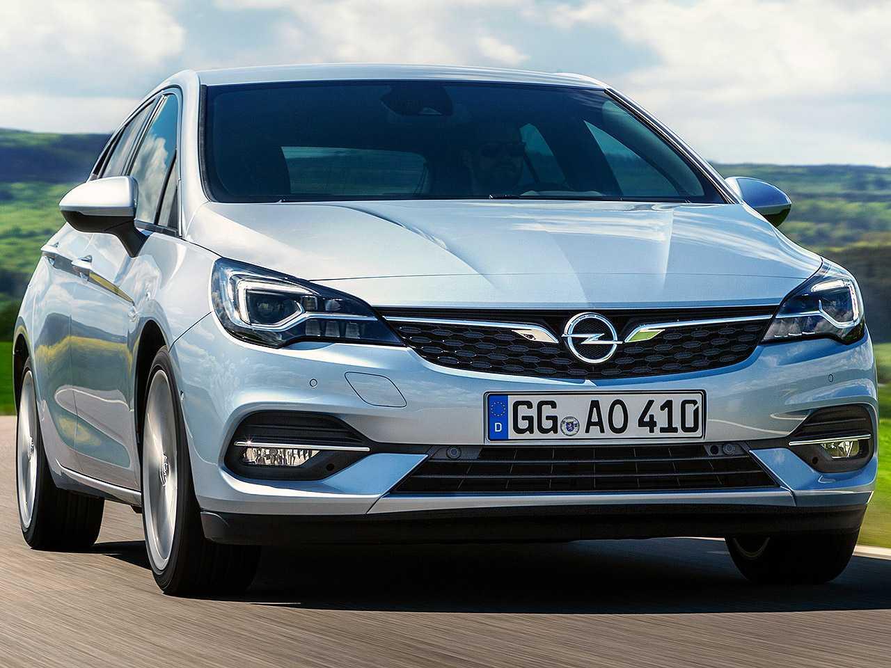 Acima o Opel Astra à venda na Europa