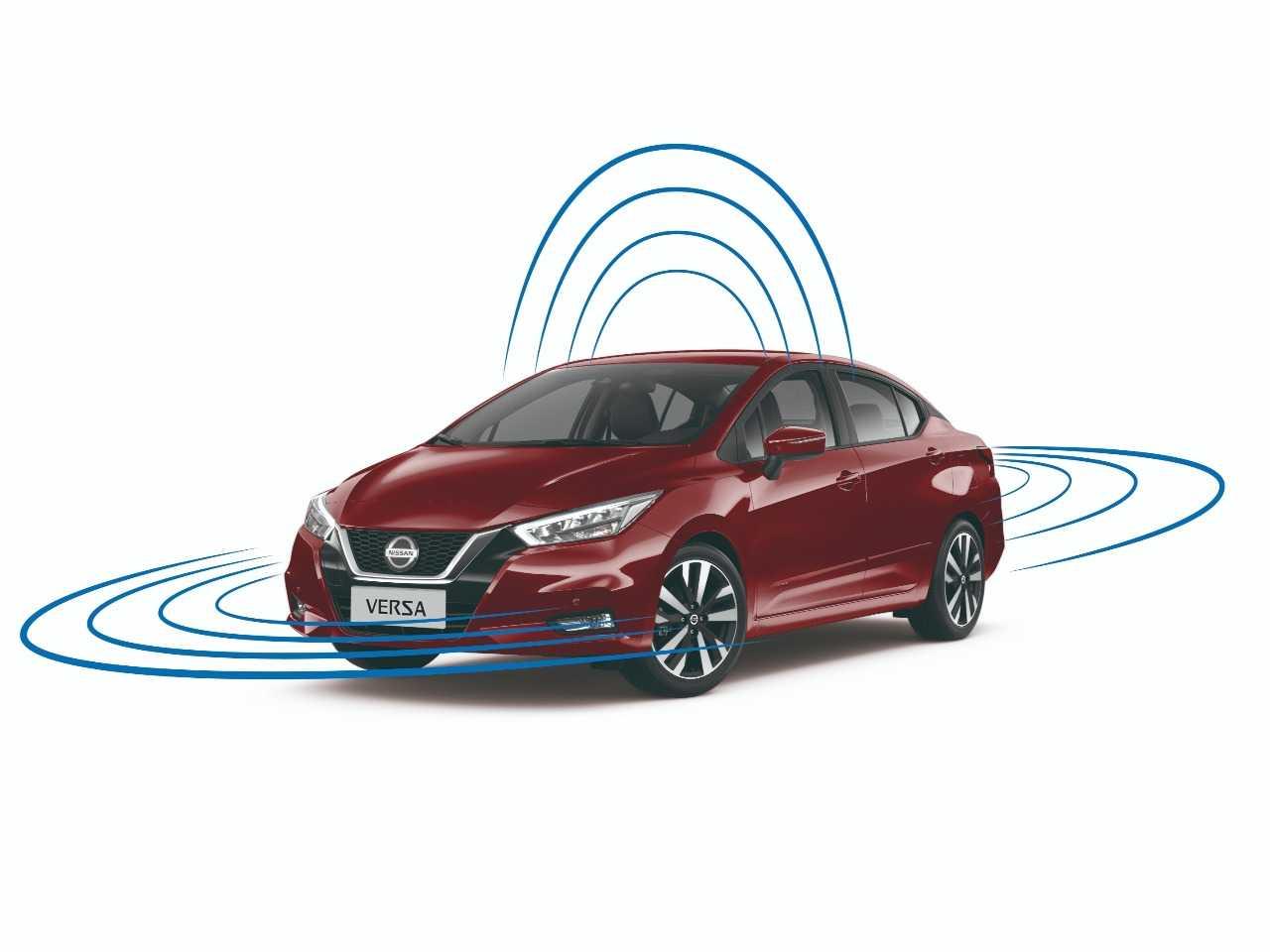 NissanVersa 2021 - ângulo frontal