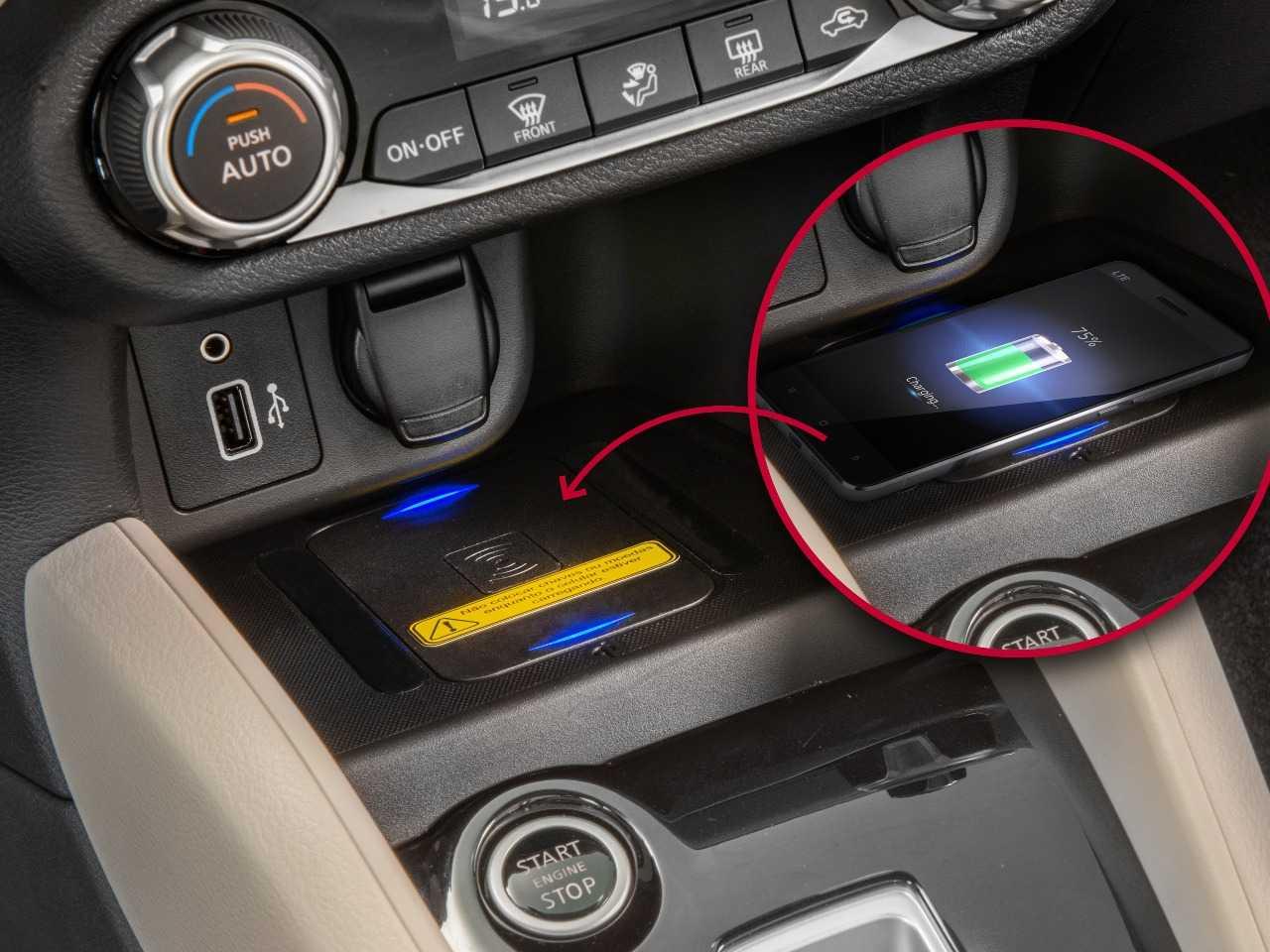 NissanVersa 2021 - console central