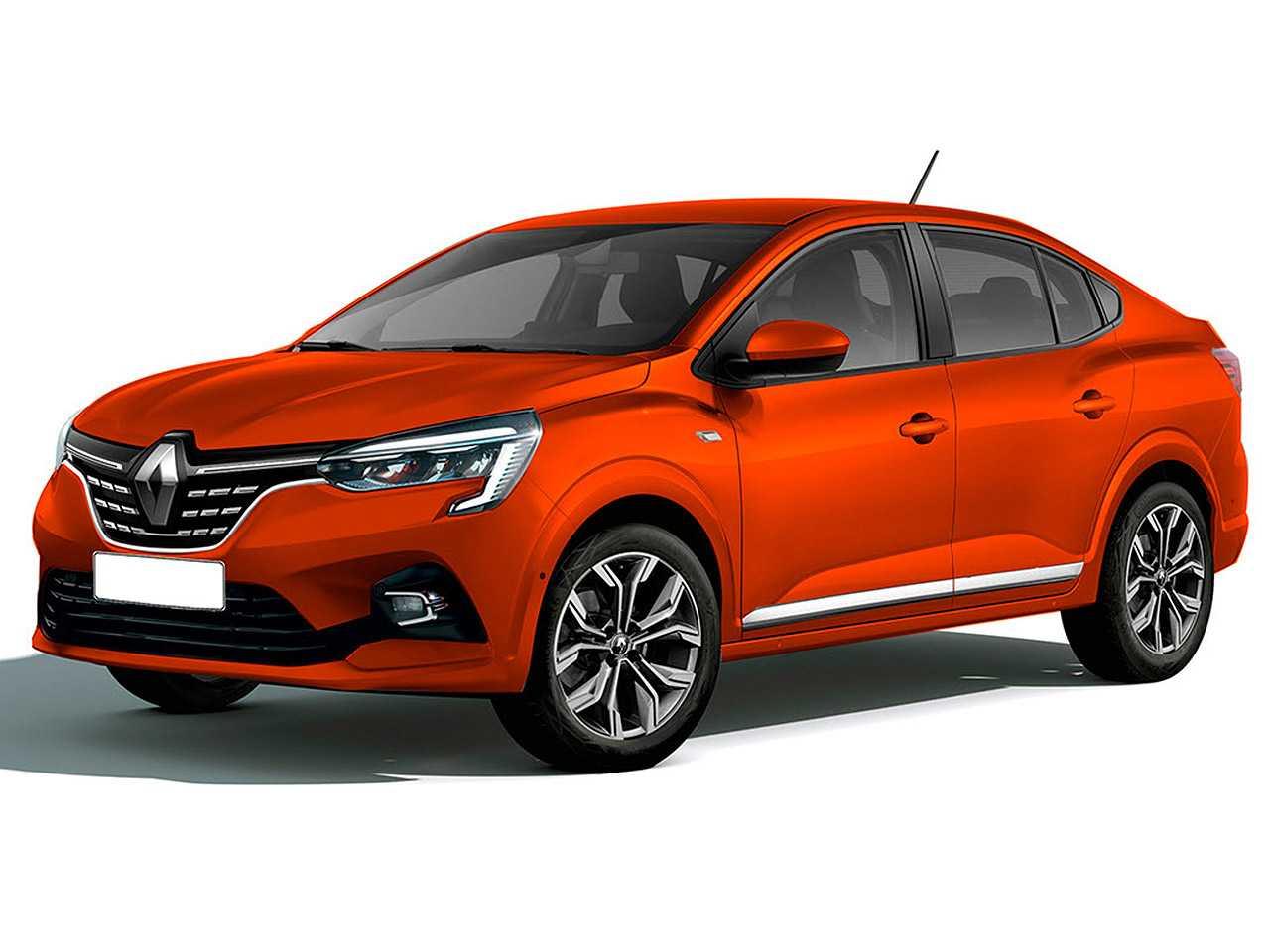 Projeção de Kleber Silva antecipando a versão final do Renault Taliant