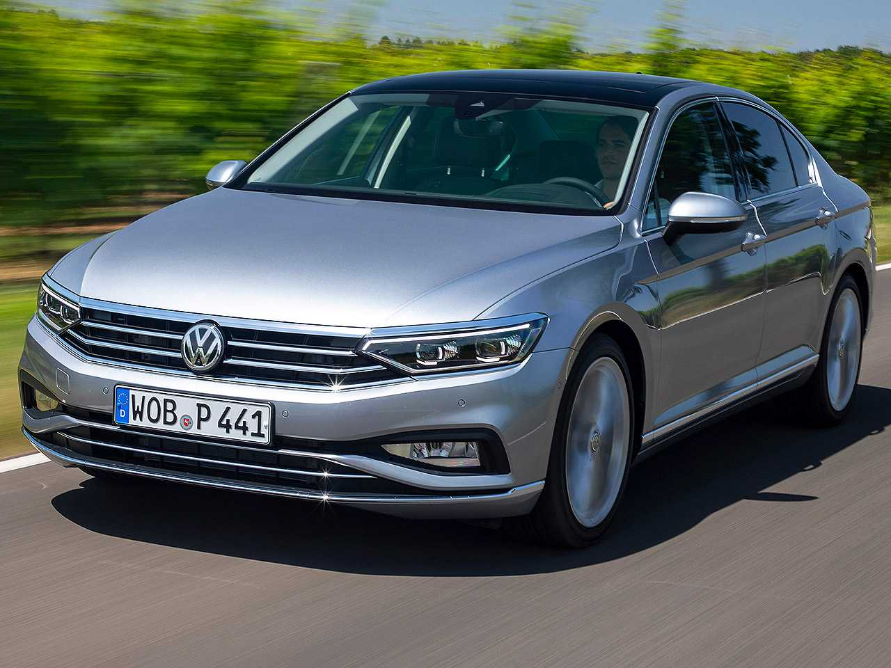 Acima o Volkswagen Passat atualmente vendido na Europa