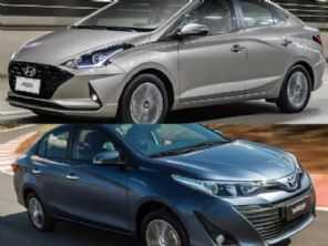 Hyundai HB20S Vision 1.6 ou um Toyota Yaris Sedã XL Live, ambos automáticos?