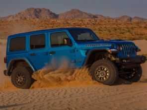 Jeep Wrangler mais poderoso da história: modelo estreia opção V8 com 470 cv