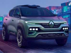 Renault Kiger, o SUV do Kwid, é revelado como conceito