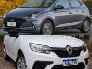 Hatches 1.0: Renault Sandero ou Hyundai HB20?