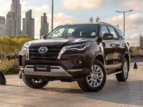 Novo Toyota SW4 2021 tem o preço definido no Brasil