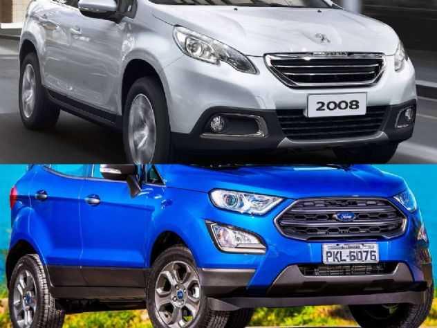 SUVs seminovos: Peugeot 2008 ou Ford EcoSport?