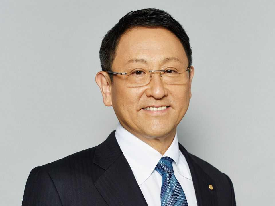 Akio Toyoda, neto do fundador da empresa
