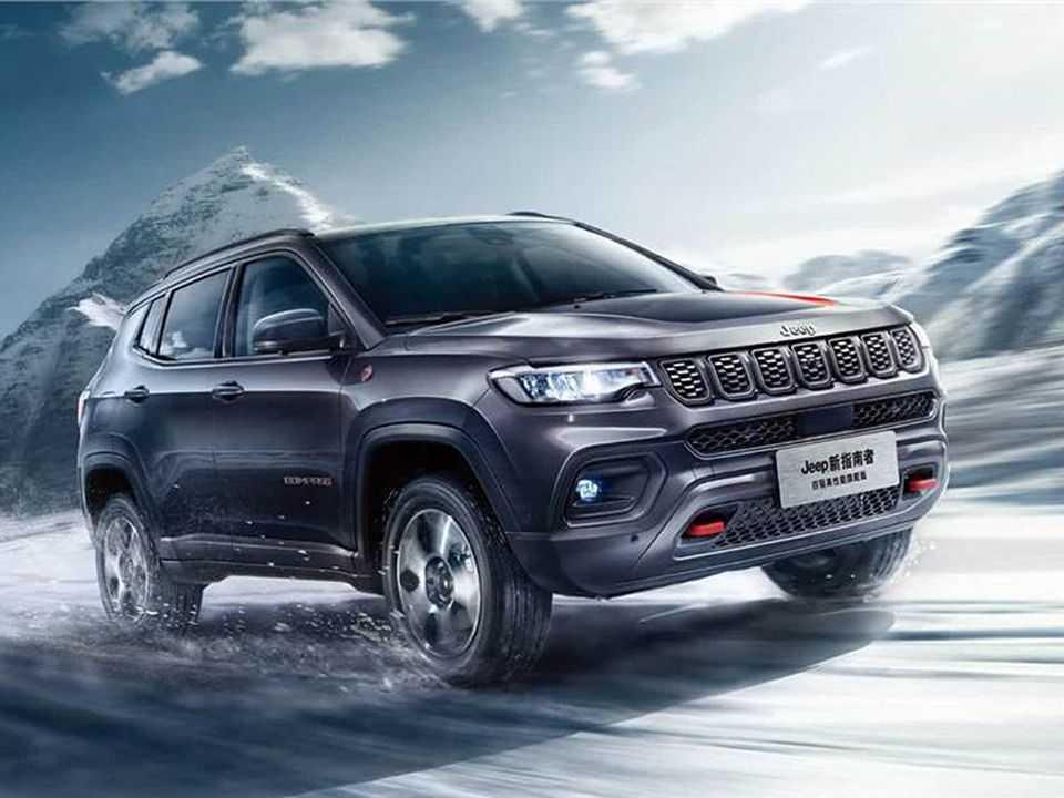 Facelift do Jeep Compass apresentado na China
