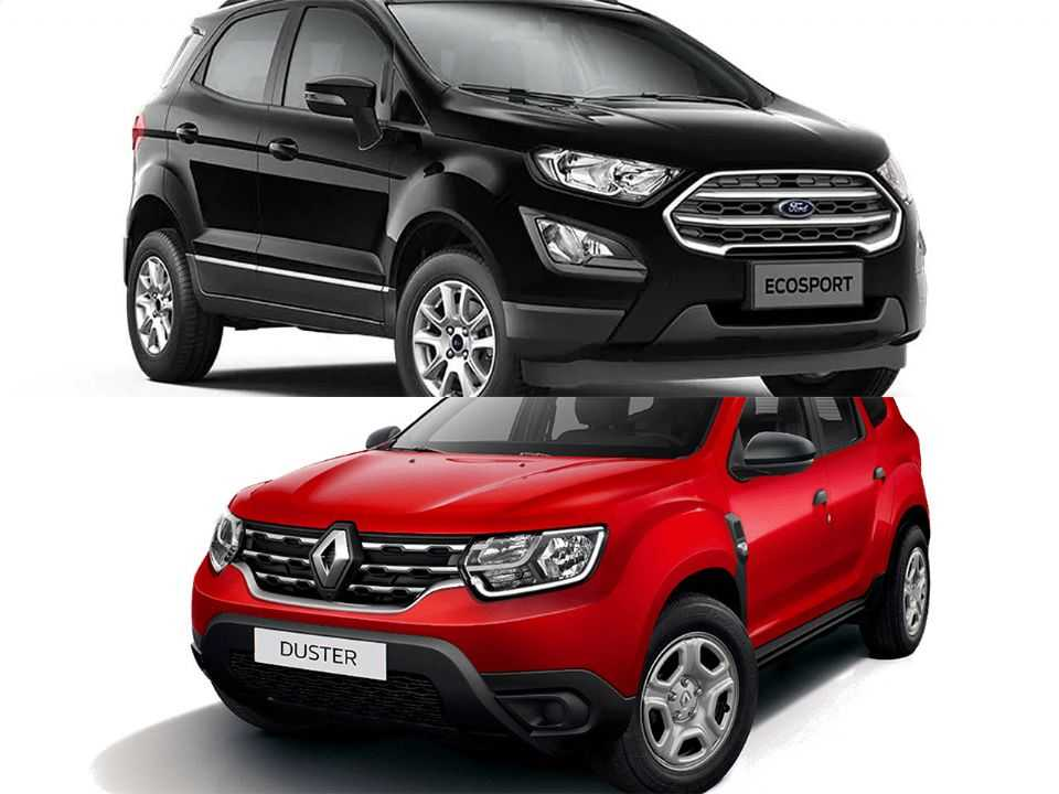 Ford EcoSport e Renault Duster