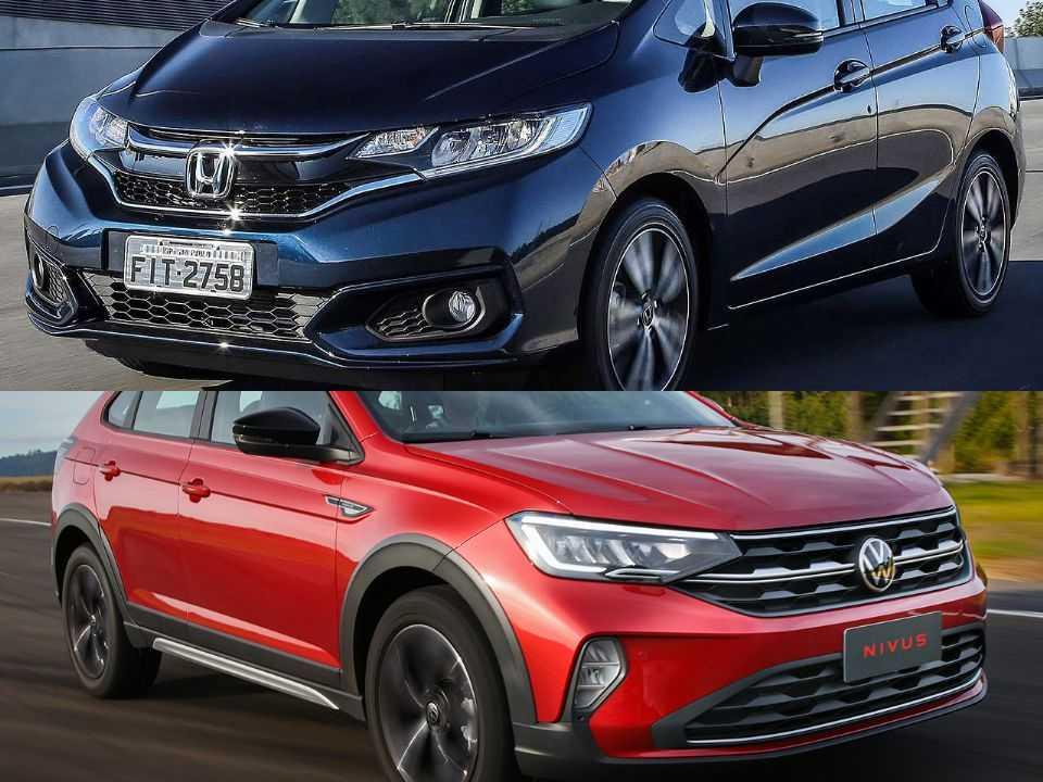 Honda Fit e Volkswagen Nivus