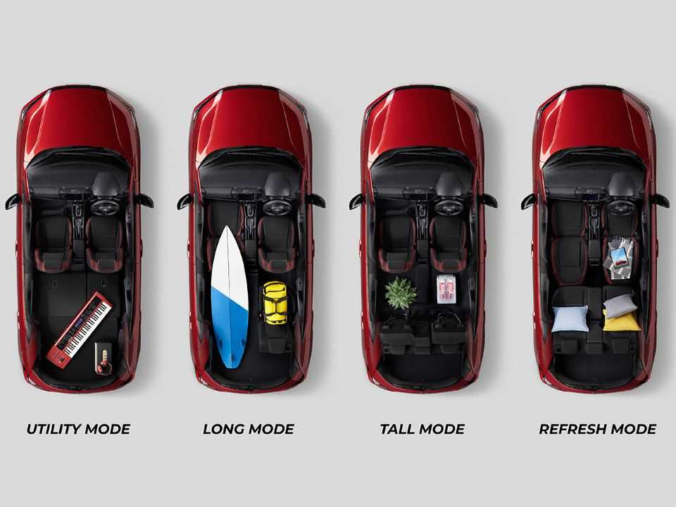 Honda City hatchback manterá a modularidade dos assentos encontrada hoje no Fit