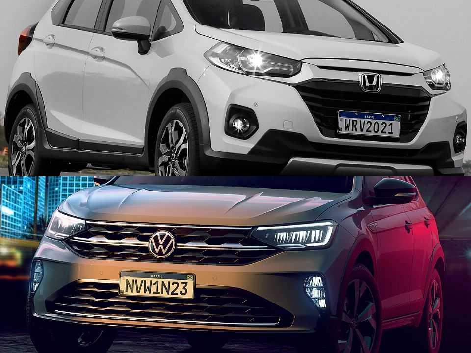 Honda WR-V e Volkswagen Nivus