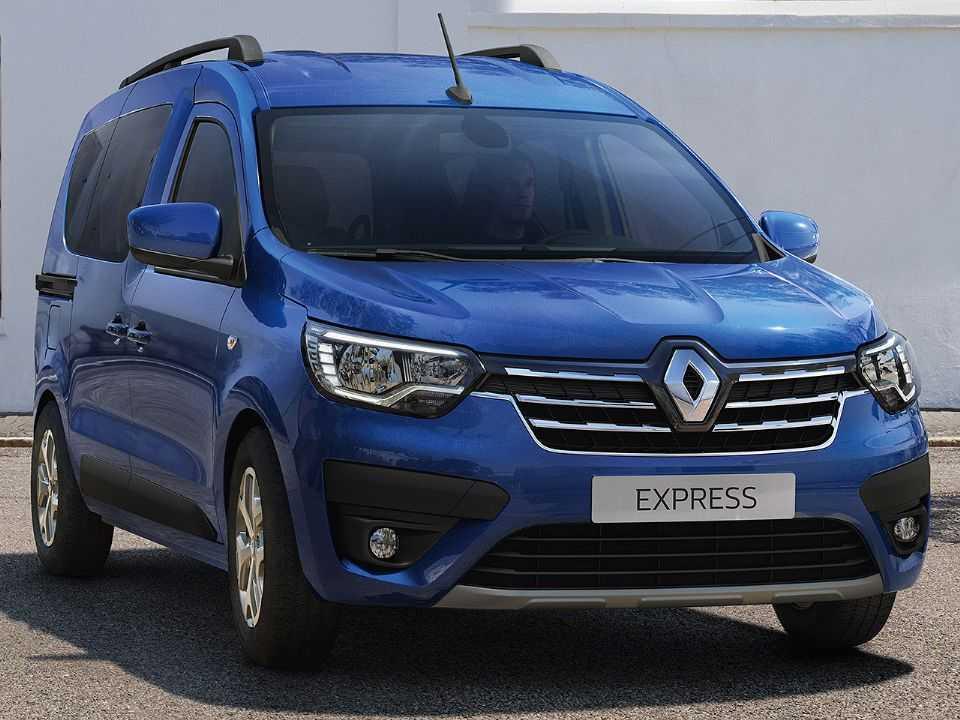Acima a nova geração do Renault Kangoo apresentada na Europa