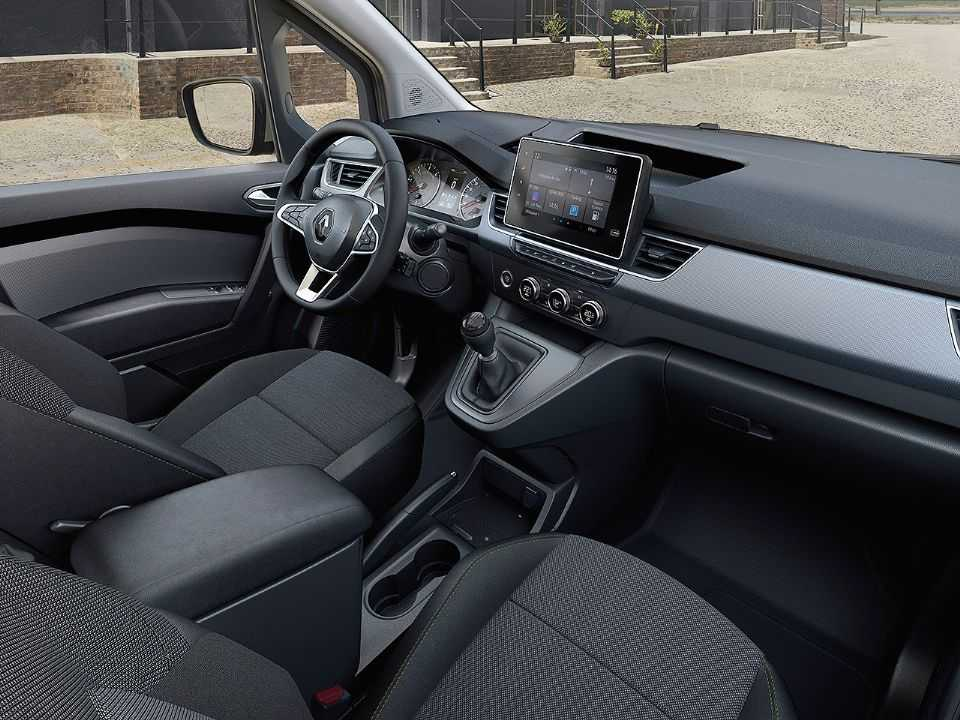 Cabine do novo Kangoo remete aos modelos atuais da romena Dacia