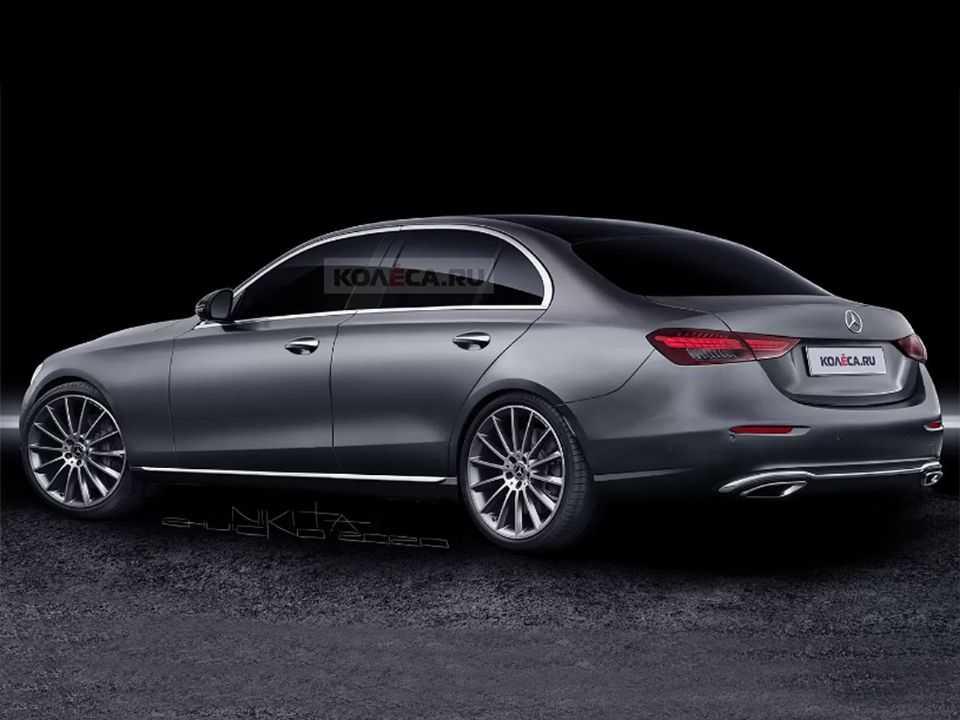 Projeção do site russo Kolesa para a próxima geração do Mercedes-Benz Classe C