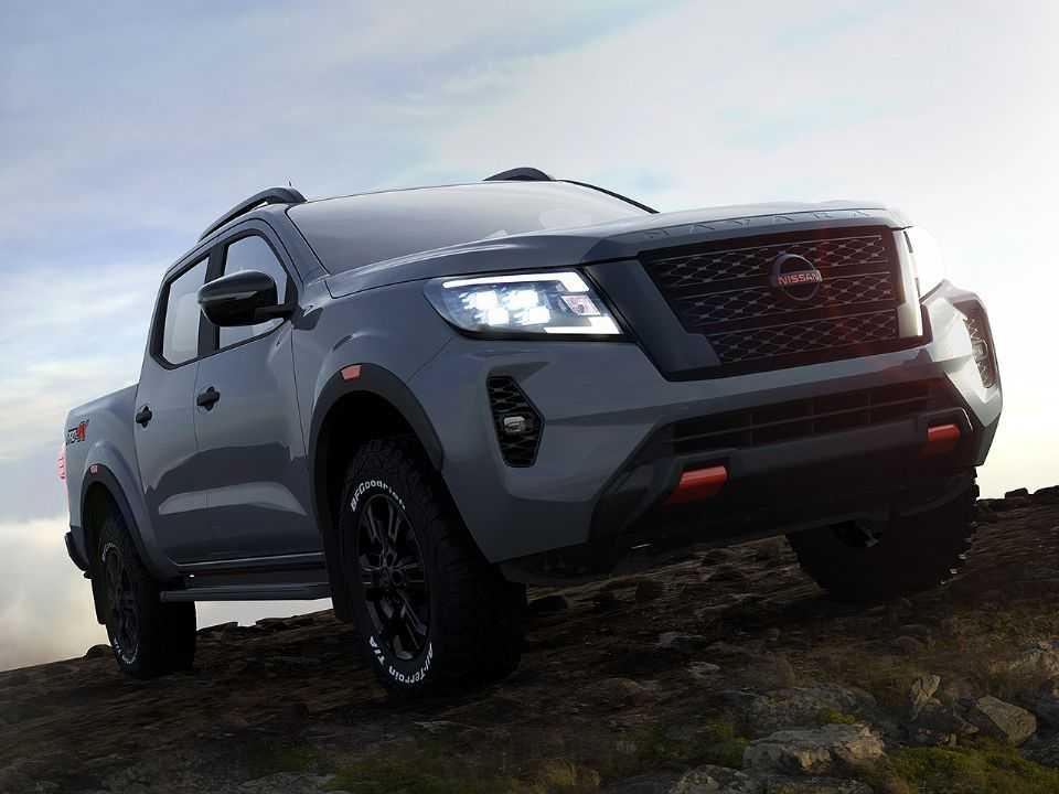 Acima o facelift para a Nissan Frontier em sua nova versão voltada ao off-road