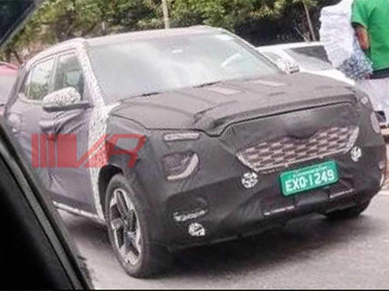 Flagra da nova geração do Hyundai Creta em testes no Brasil