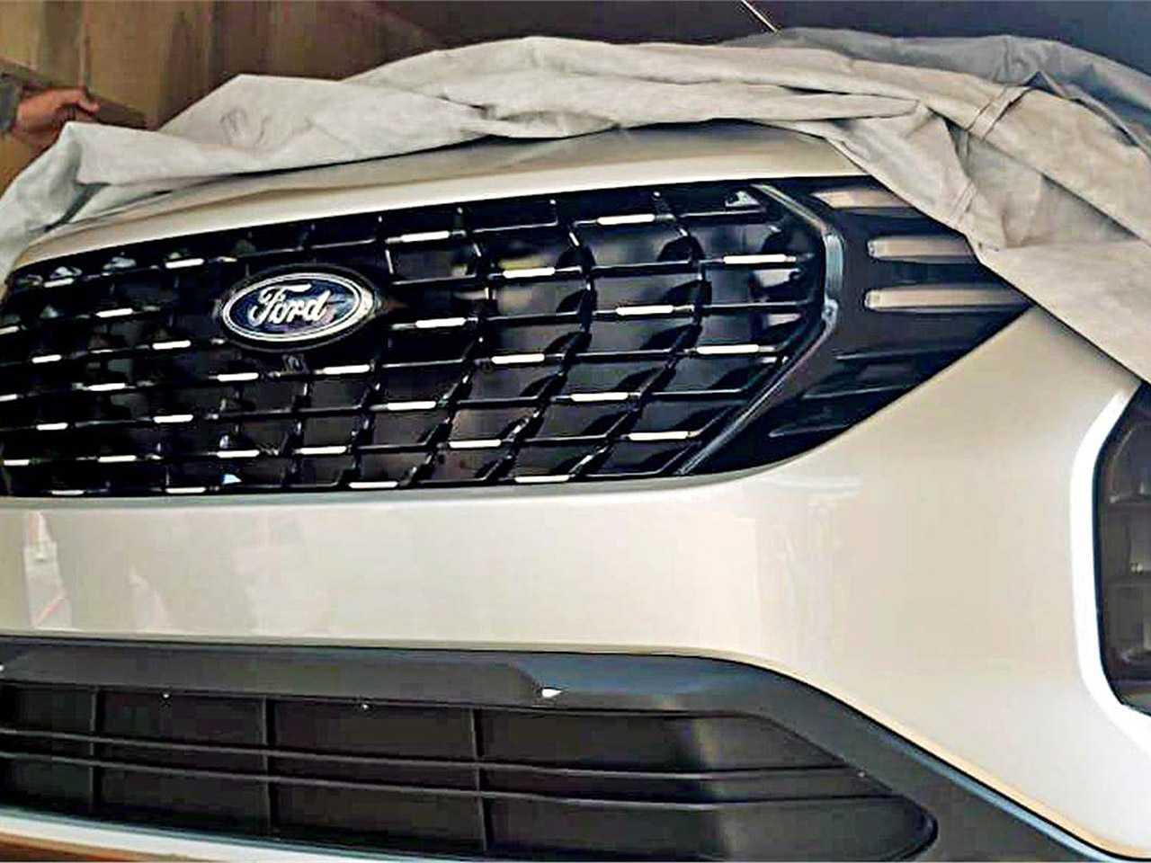 Flagra do futuro SUV desenvolvido pela Ford e Mahindra para mercados emergentes
