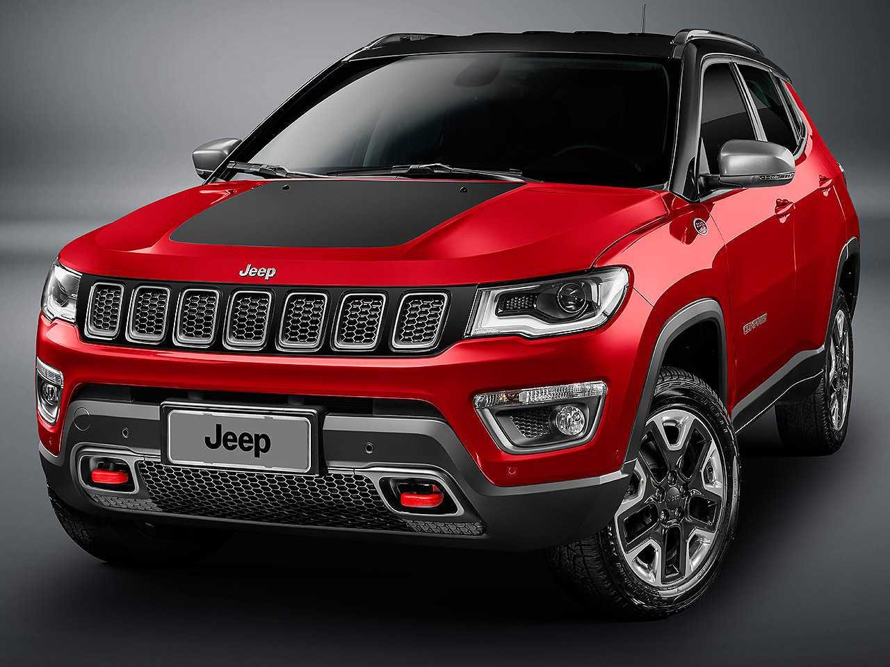 JeepCompass 2021 - ângulo frontal
