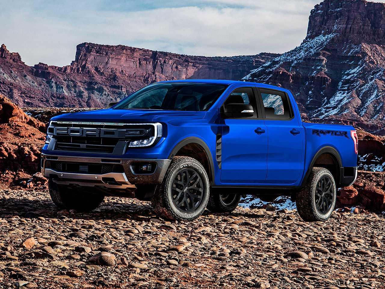 Projeção de Kleber Silva para a nova geração da Ford Ranger na versão Raptor