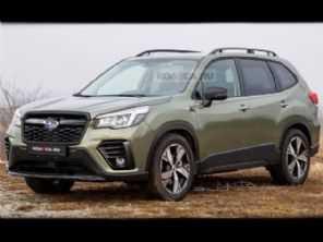 Facelift para o Subaru Forester chega em 2021 e pode ficar assim