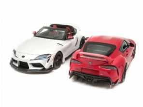 Raridade: Toyota apresenta o Supra Targa