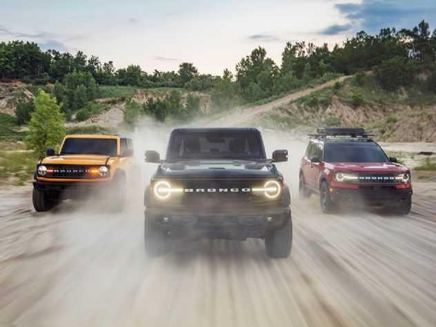 Bronco, Mustang Mach 1 e Ranger Black estreiam no Brasil em 2021
