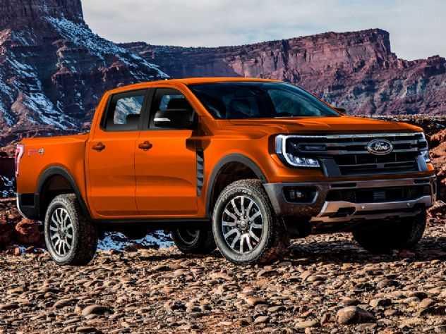 Flagra confirma projeção do AUTOO para nova geração da Ford Ranger