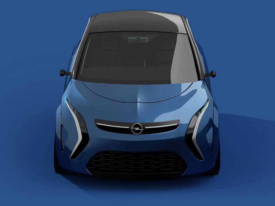Talvez o único escorregão do designer tenha sido usar um estilo antigo da Opel