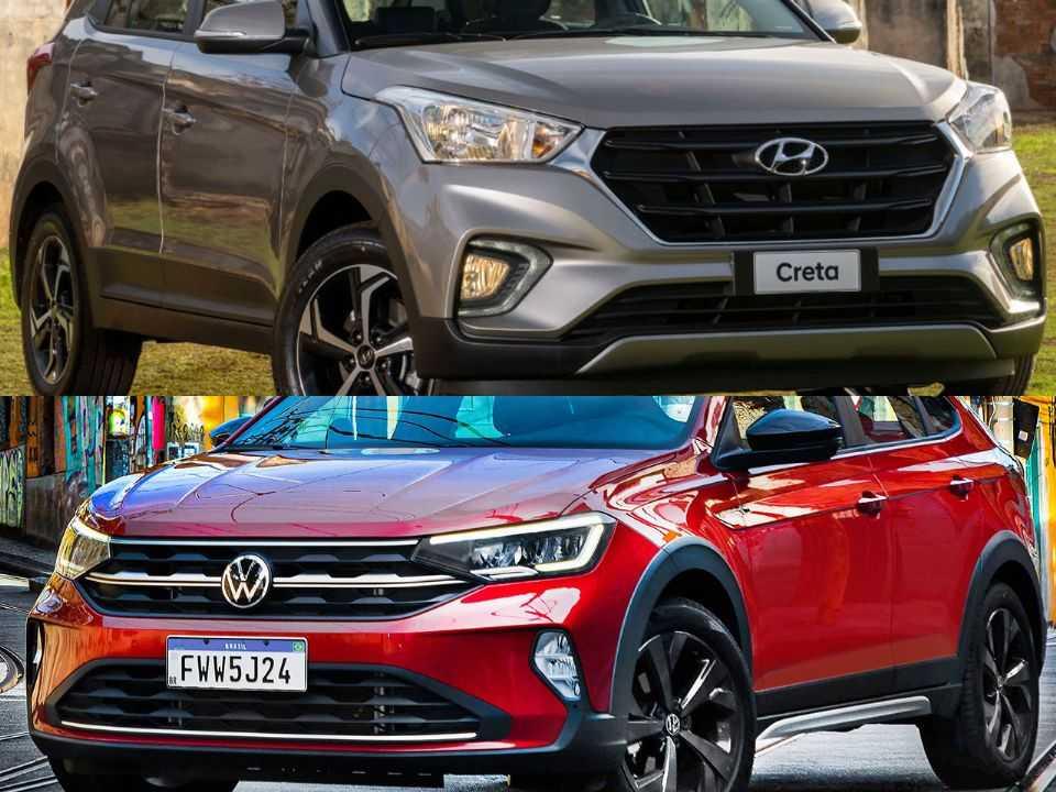Hyundai Creta e Volkswagen Nivus