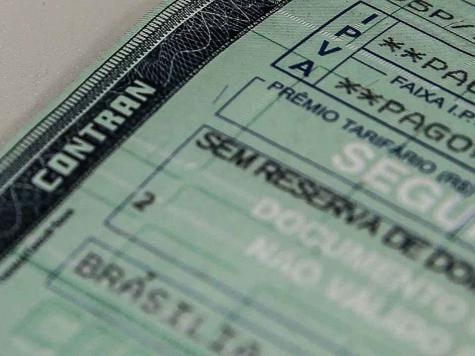 Licenciamento de veículos em 2021 não terá a cobrança do Seguro Obrigatório