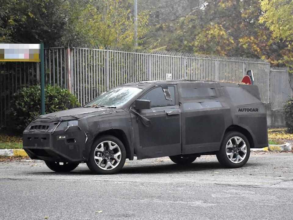 Terceiro modelo que a Jeep vai produzir no Brasil, futuro SUV 7 lugares também chegará ao mercado europeu