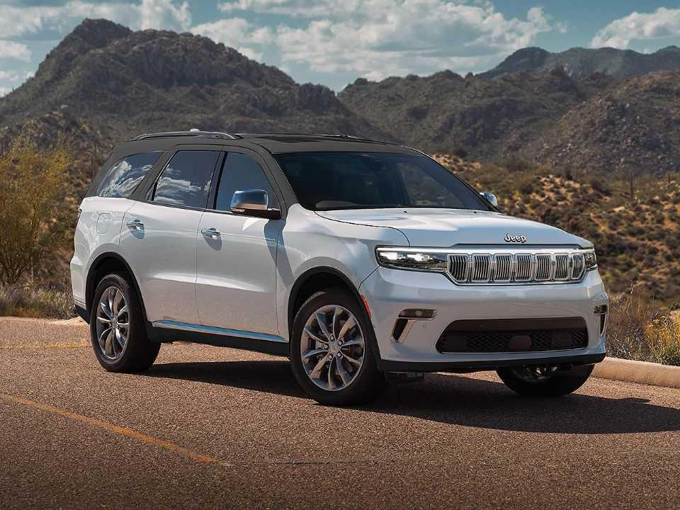 Sugestão para o novo Jeep 7 lugares nacional mescla elementos de SUVs recentes da marca
