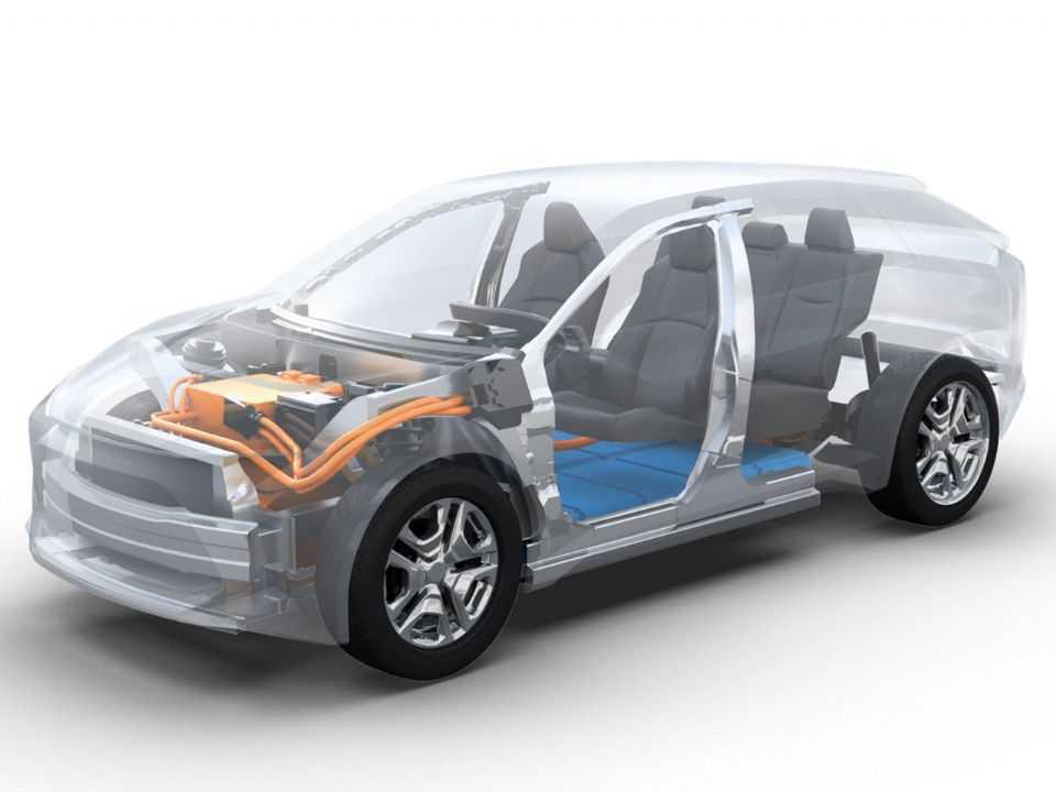 A plataforma e-TNGA será a base para diversos veículos elétricos da marca